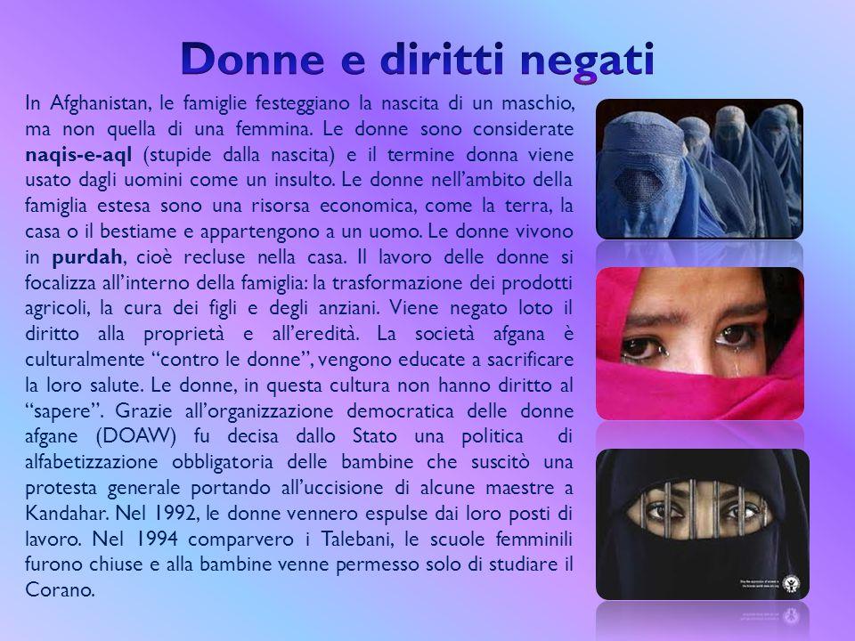 Donne e diritti negati