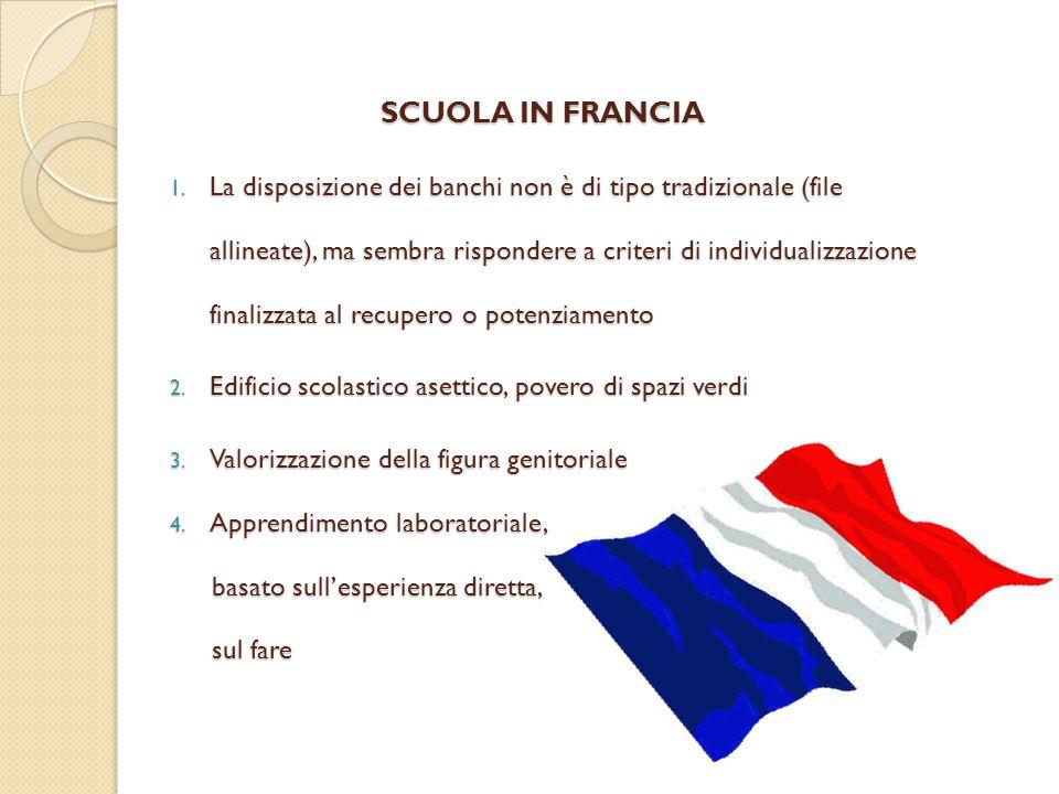 SCUOLA IN FRANCIA