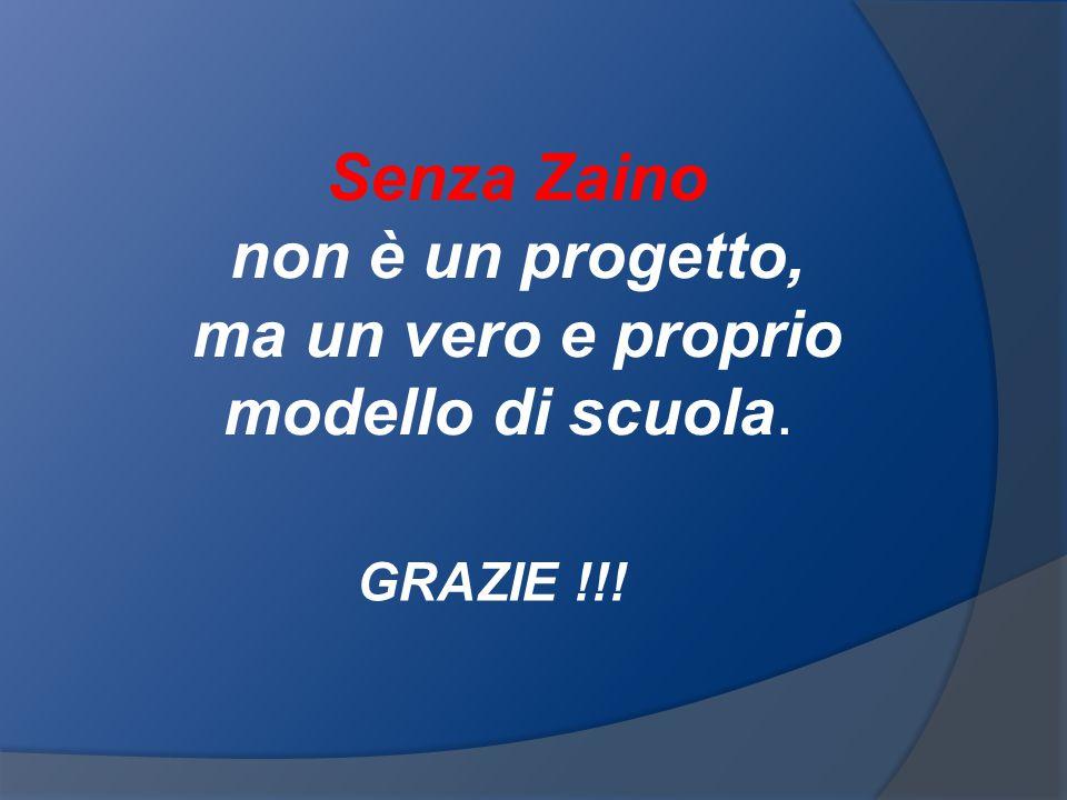 Senza Zaino non è un progetto, ma un vero e proprio