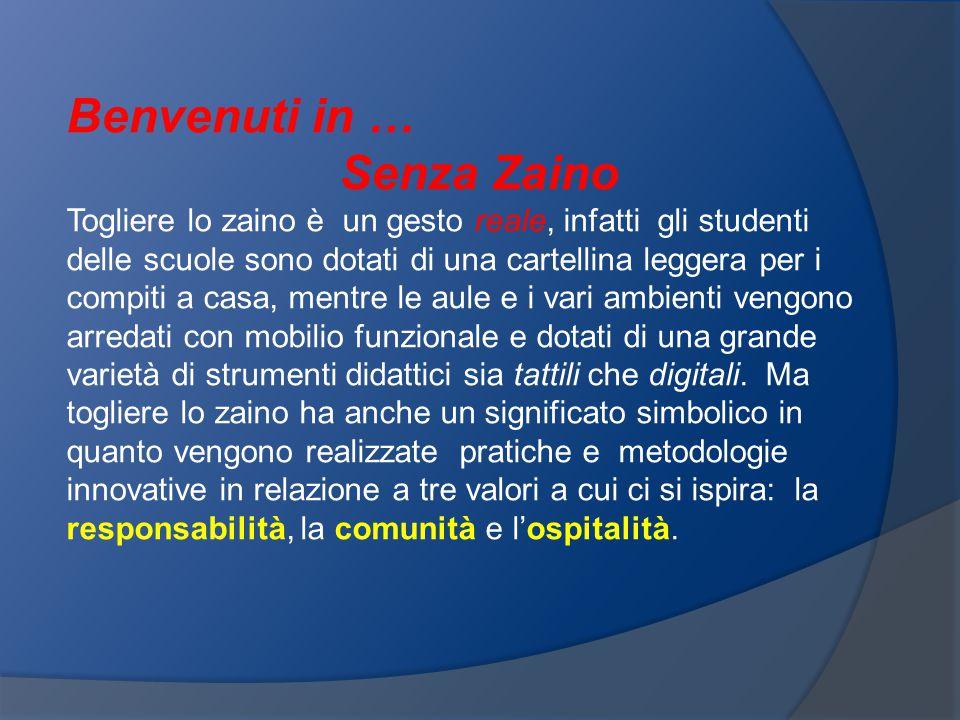 Benvenuti in … Senza Zaino