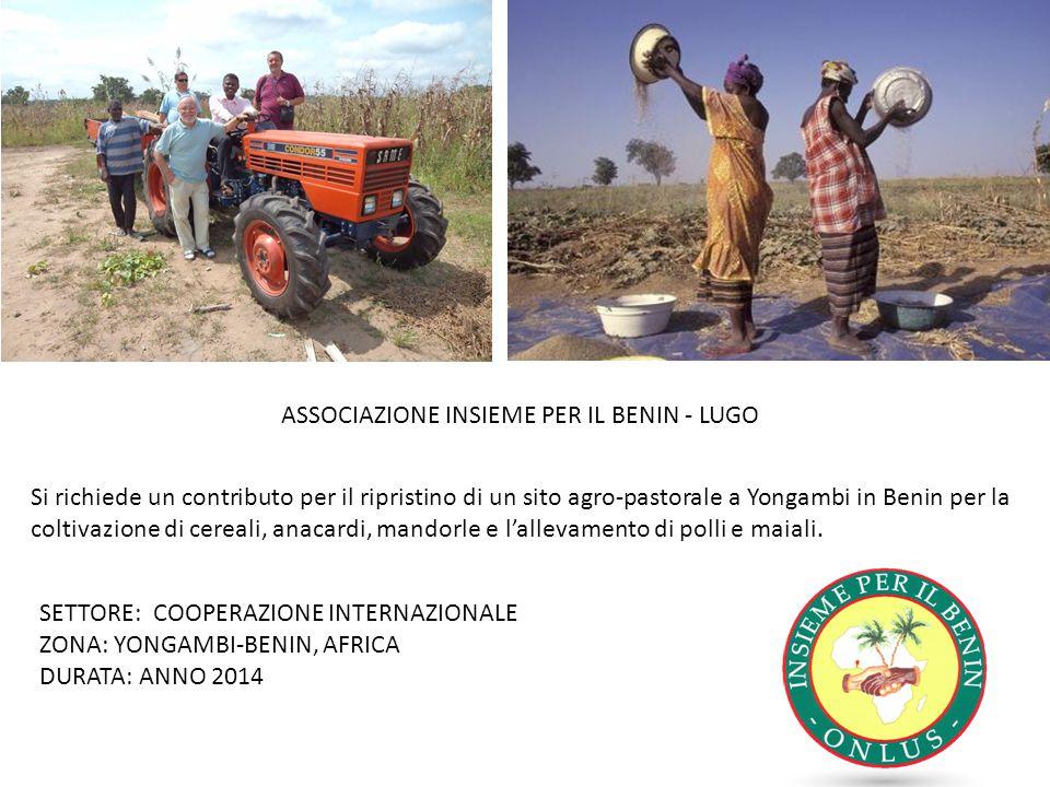 ASSOCIAZIONE INSIEME PER IL BENIN - LUGO