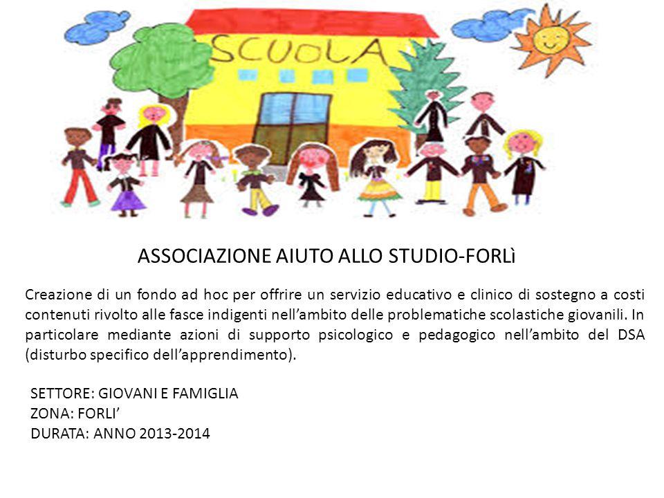 ASSOCIAZIONE AIUTO ALLO STUDIO-FORLì