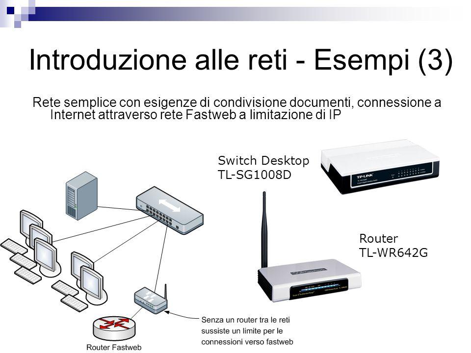 Introduzione alle reti - Esempi (3)