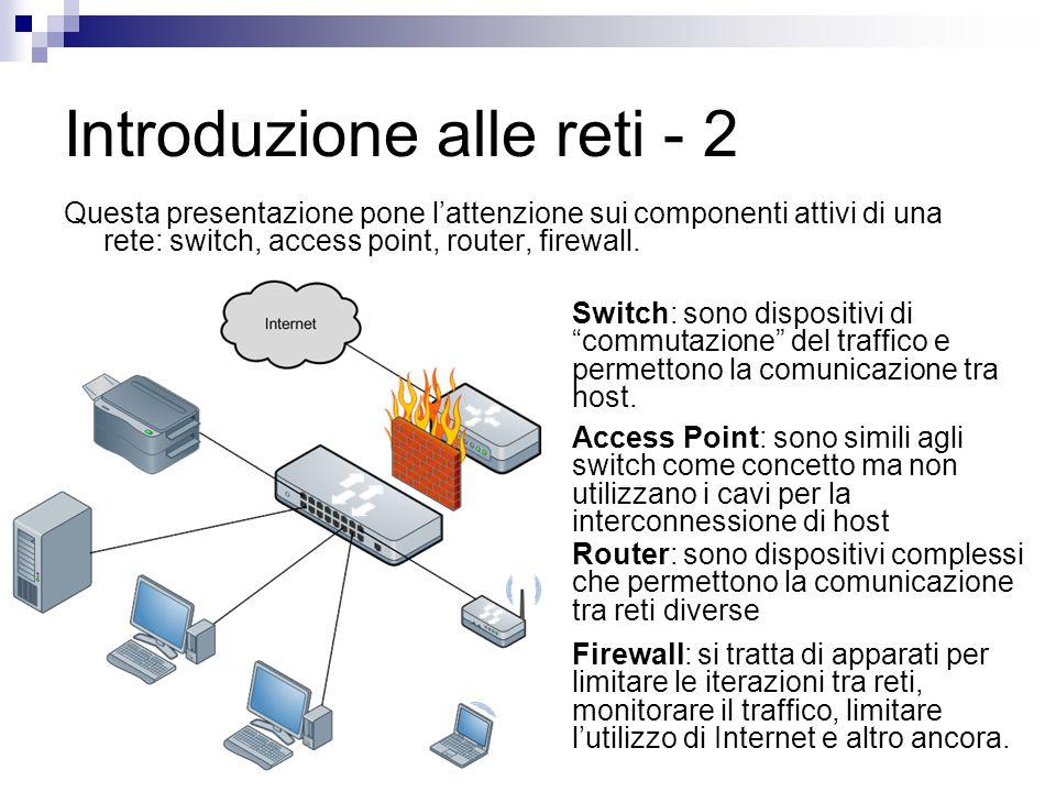 Introduzione alle reti - 2