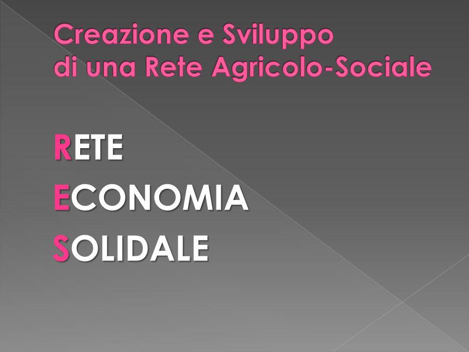 Creazione e Sviluppo di una Rete Agricolo-Sociale
