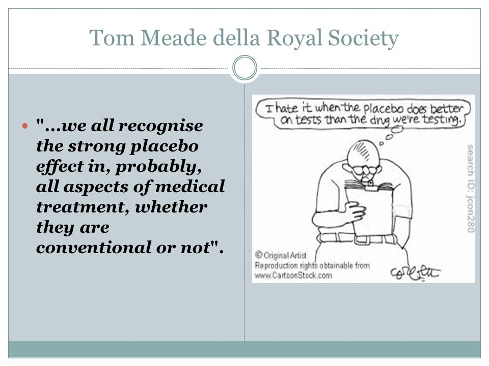 Tom Meade della Royal Society
