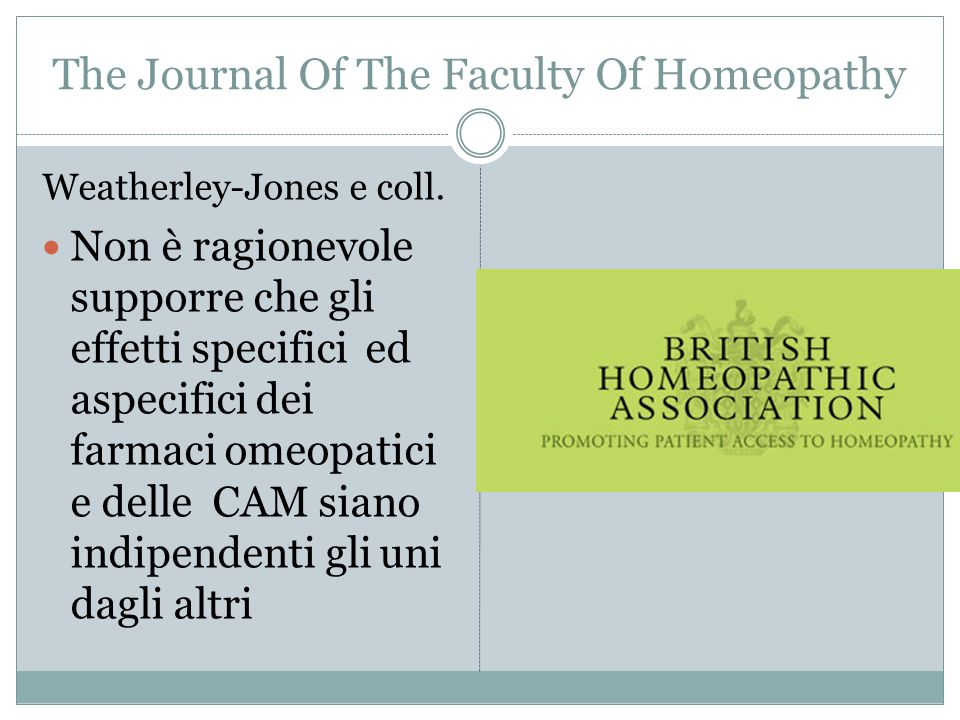 The Journal Of The Faculty Of Homeopathy