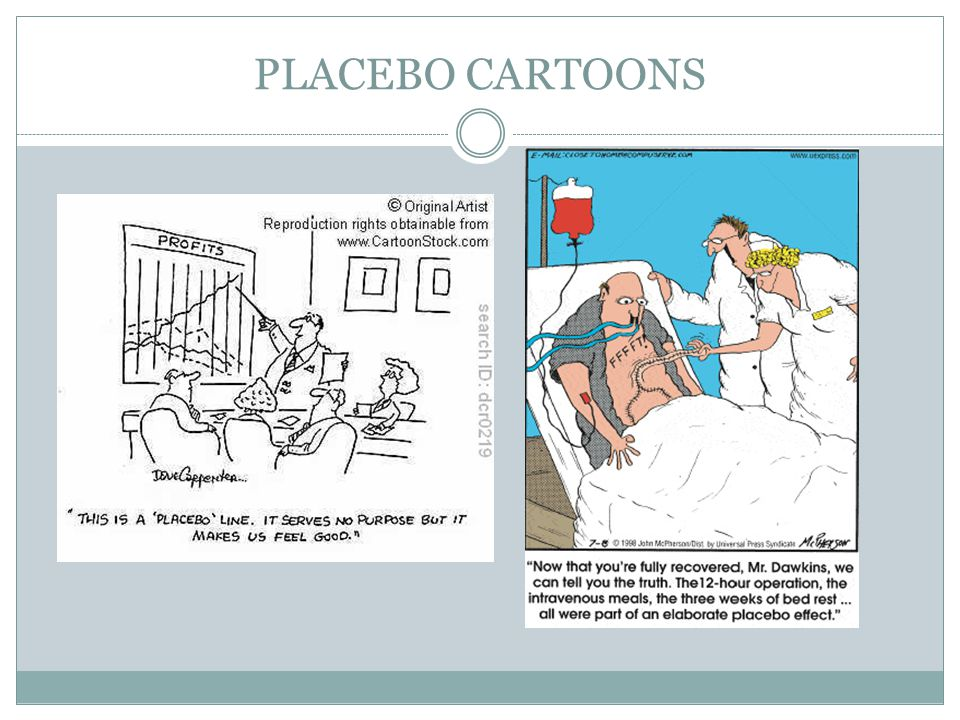 PLACEBO CARTOONS