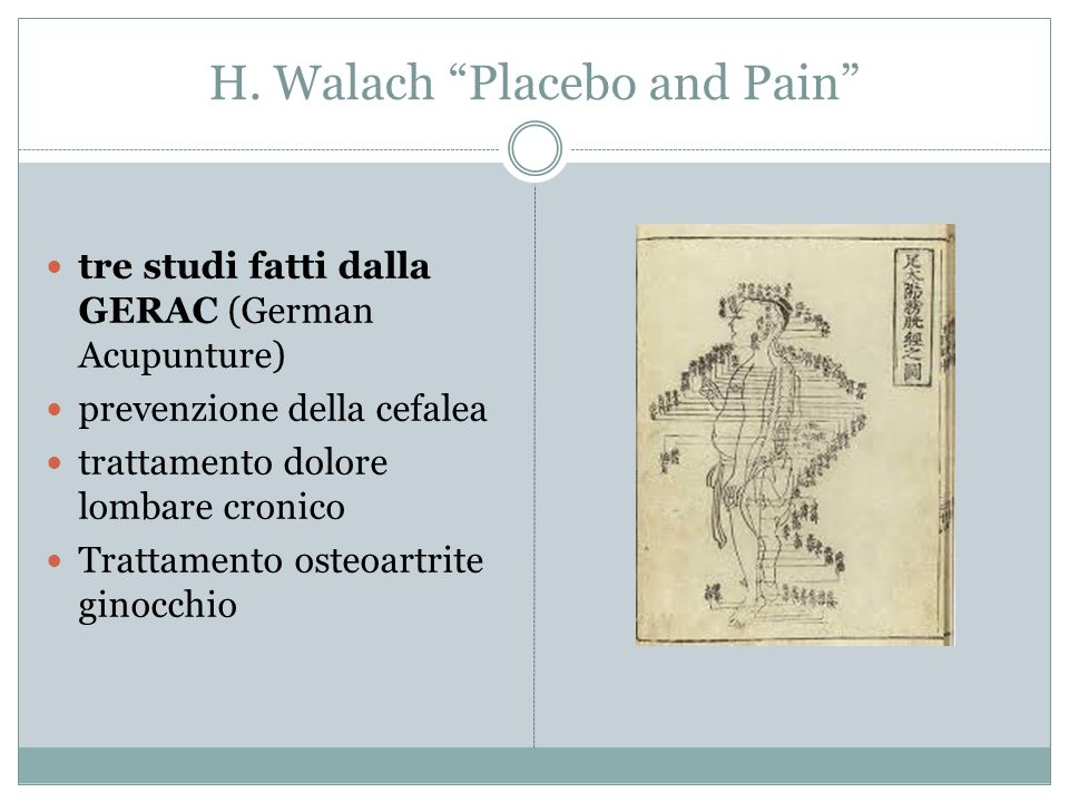 H. Walach Placebo and Pain