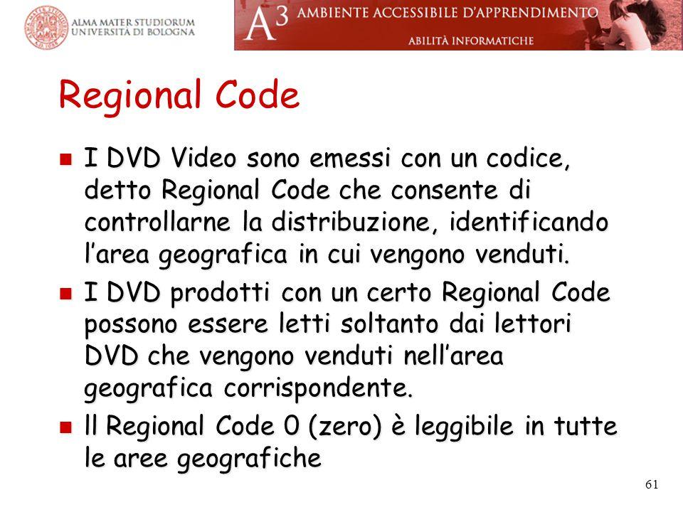 Regional Code