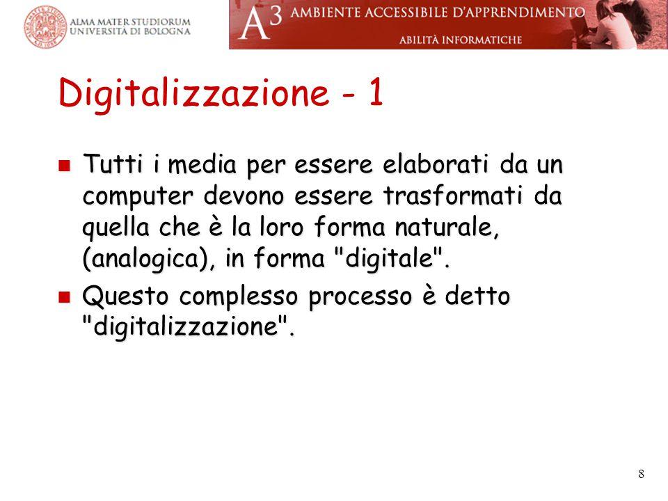 Digitalizzazione - 1