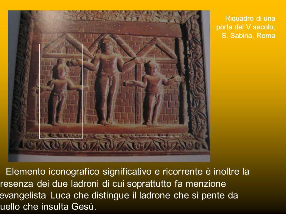 Riquadro di una porta del V secolo, S. Sabina, Roma