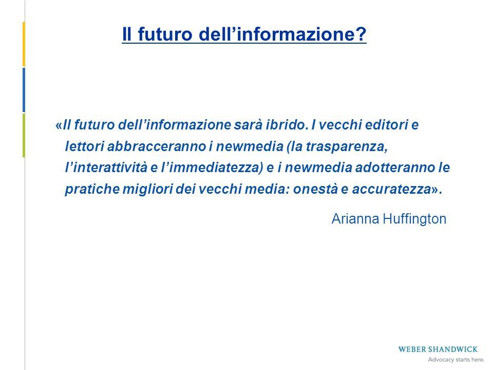 Il futuro dell'informazione