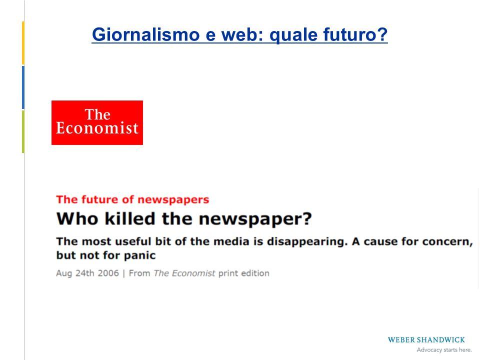 Giornalismo e web: quale futuro