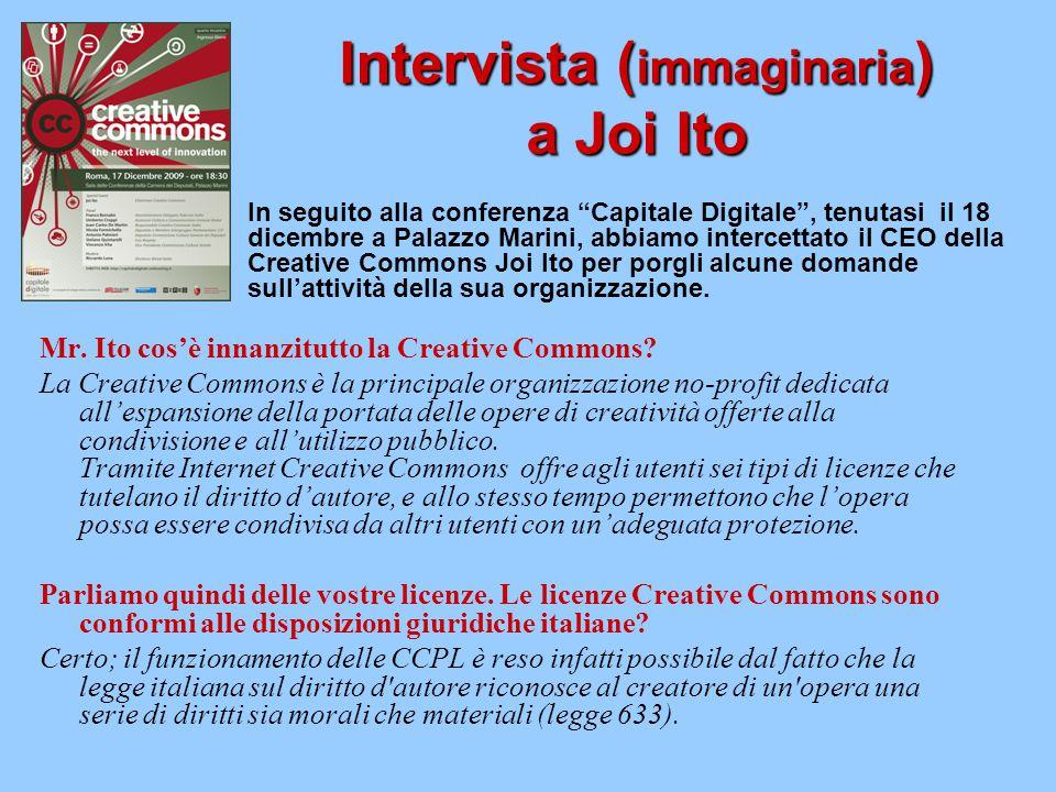 Intervista (immaginaria) a Joi Ito