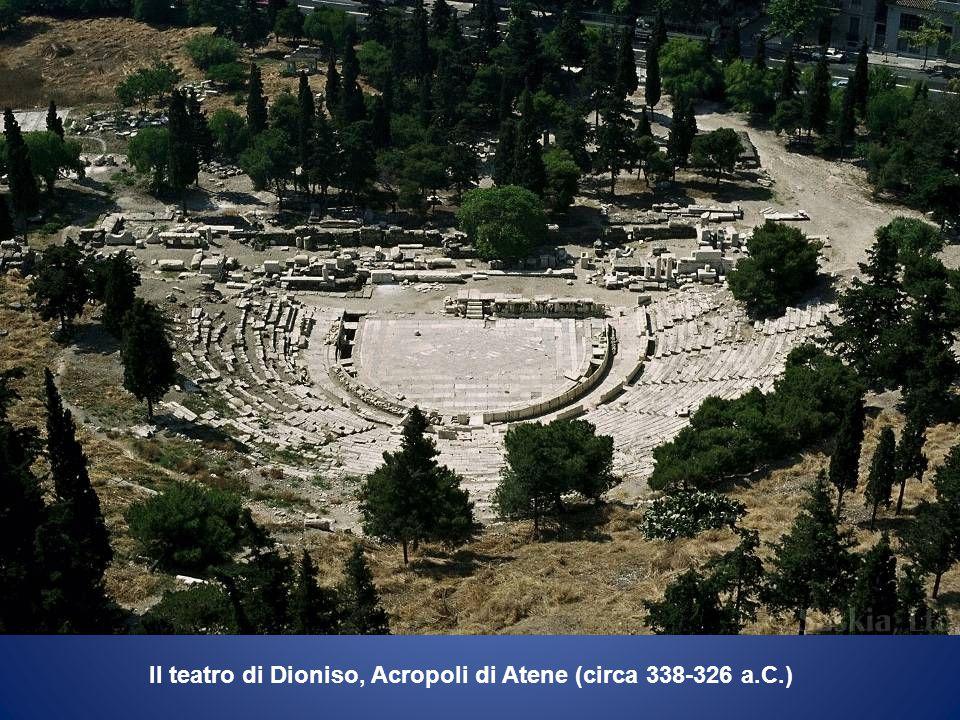 Il teatro di Dioniso, Acropoli di Atene (circa 338-326 a.C.)