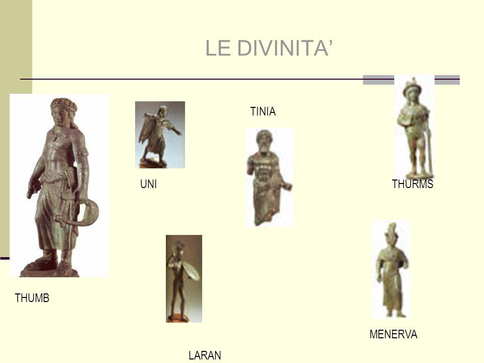 LE DIVINITA' TINIA UNI THURMS THUMB MENERVA LARAN