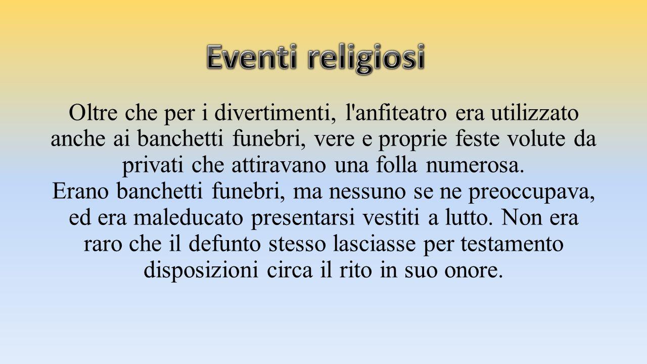 Eventi religiosi