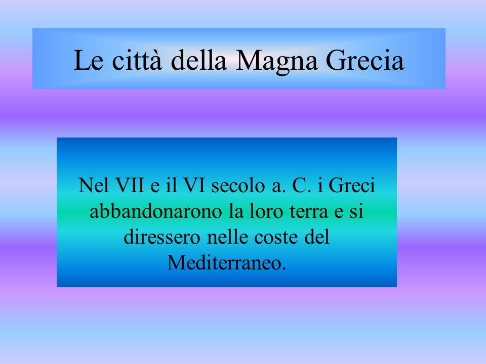 Le città della Magna Grecia