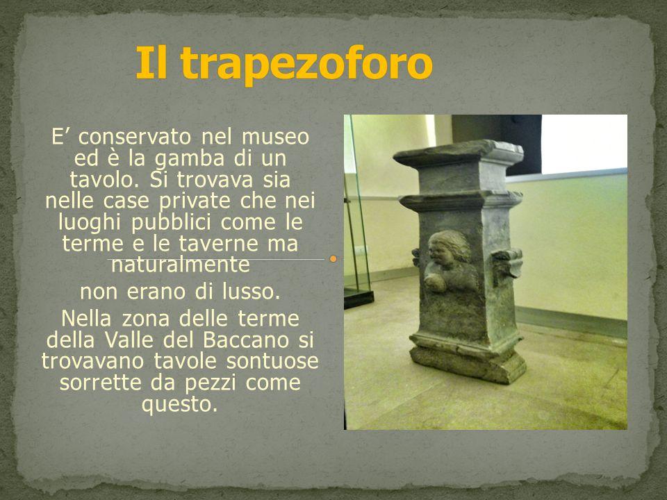 Il trapezoforo