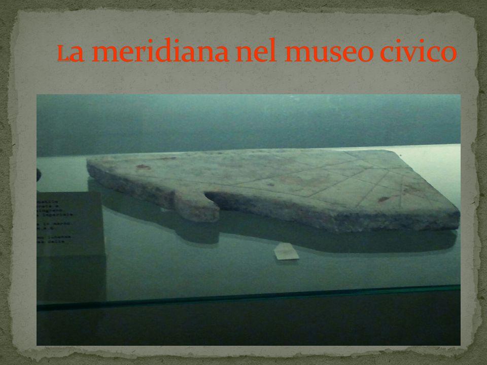 La meridiana nel museo civico