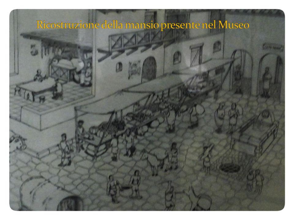 Ricostruzione della mansio presente nel Museo