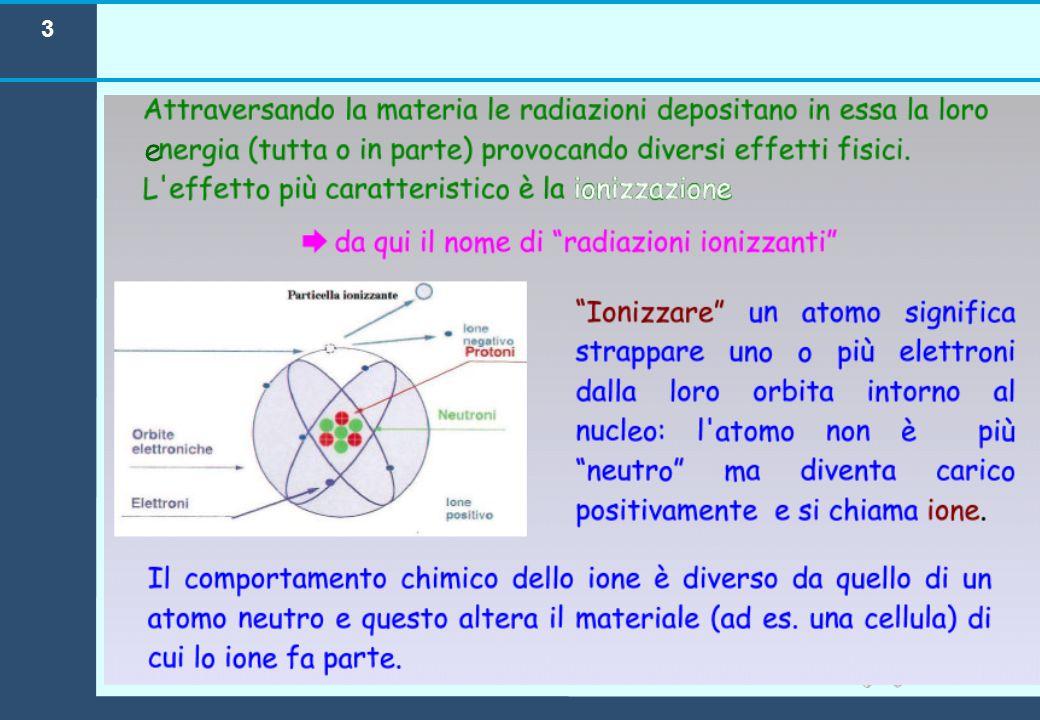 SORGENTI Sorgenti naturali (raggi cosmici, radionuclidi, ...)