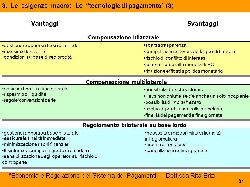 3. Le esigenze macro: Le tecnologie di pagamento (3)