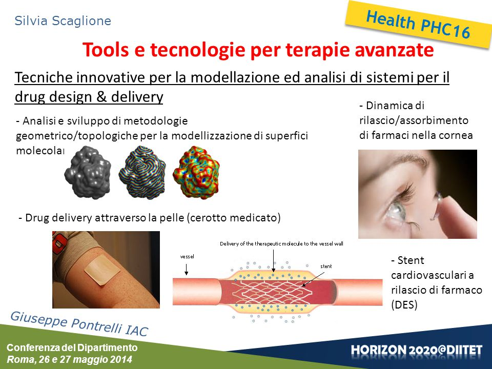 Tools e tecnologie per terapie avanzate