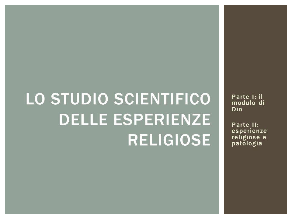 Lo studio scientifico delle esperienze religiose