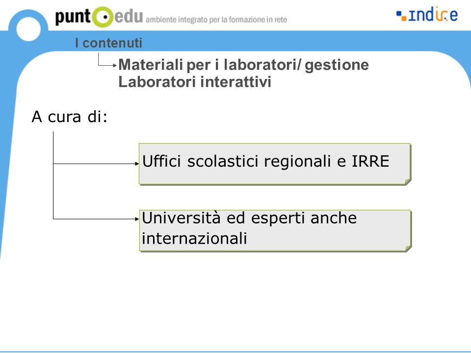 Materiali per i laboratori/ gestione Laboratori interattivi