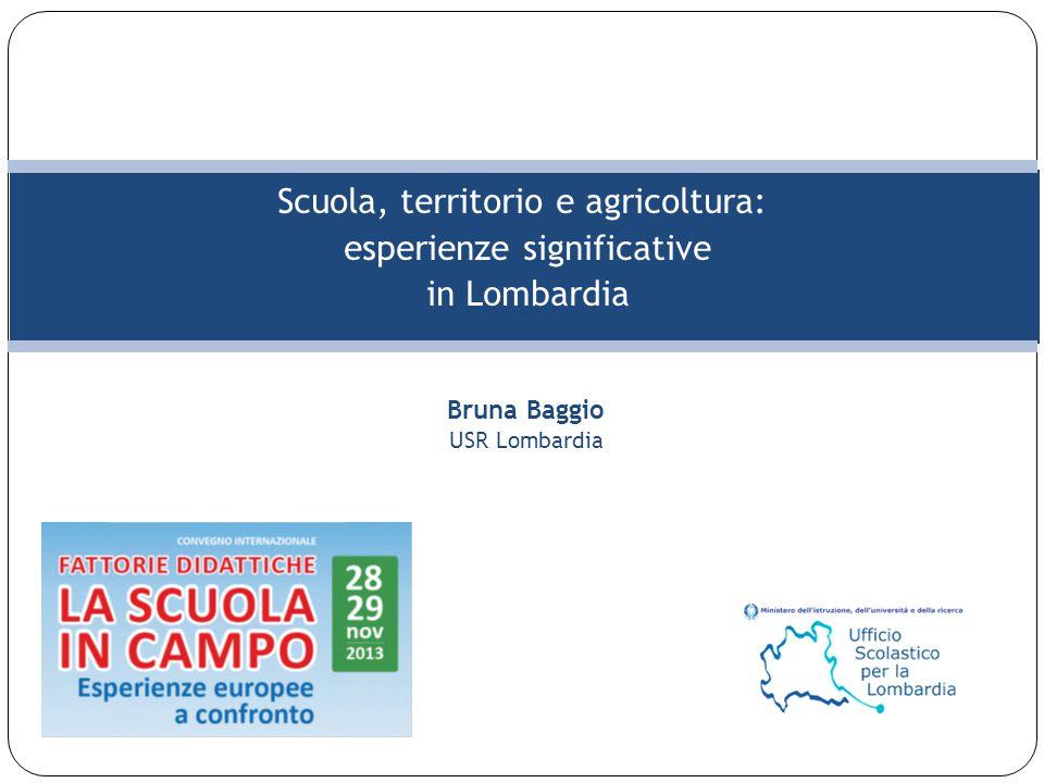 Scuola, territorio e agricoltura: esperienze significative