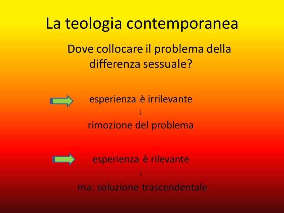 La teologia contemporanea