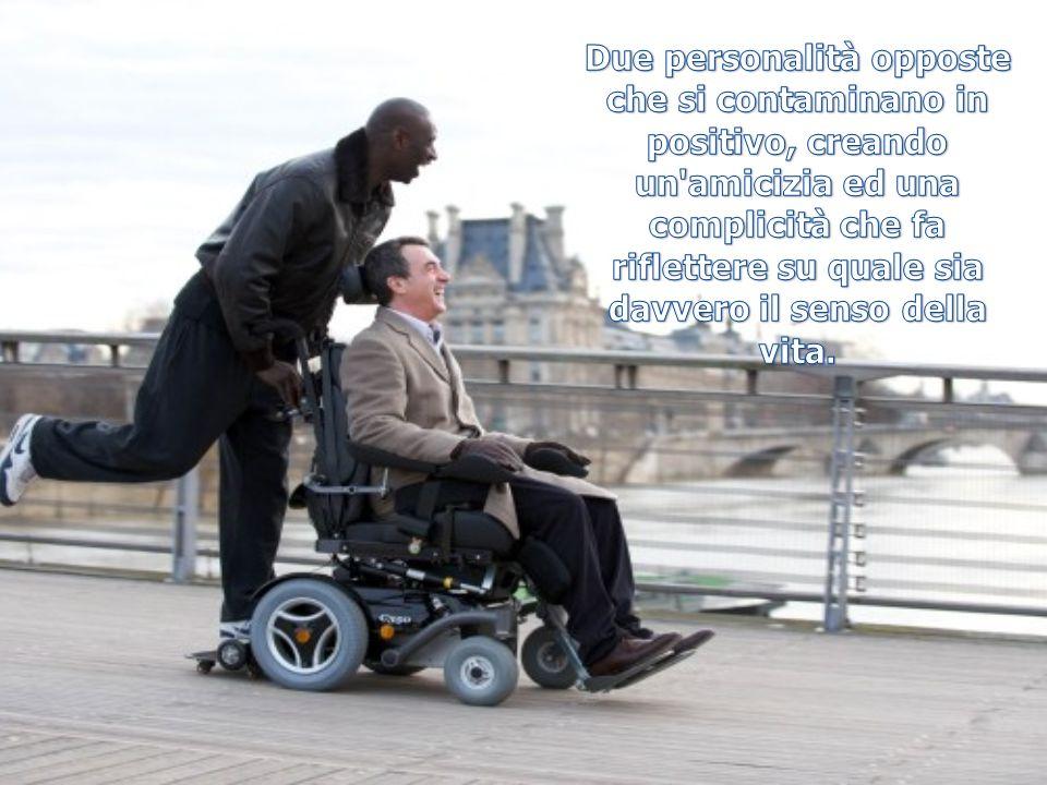 Due personalità opposte che si contaminano in positivo, creando un amicizia ed una complicità che fa riflettere su quale sia davvero il senso della vita.