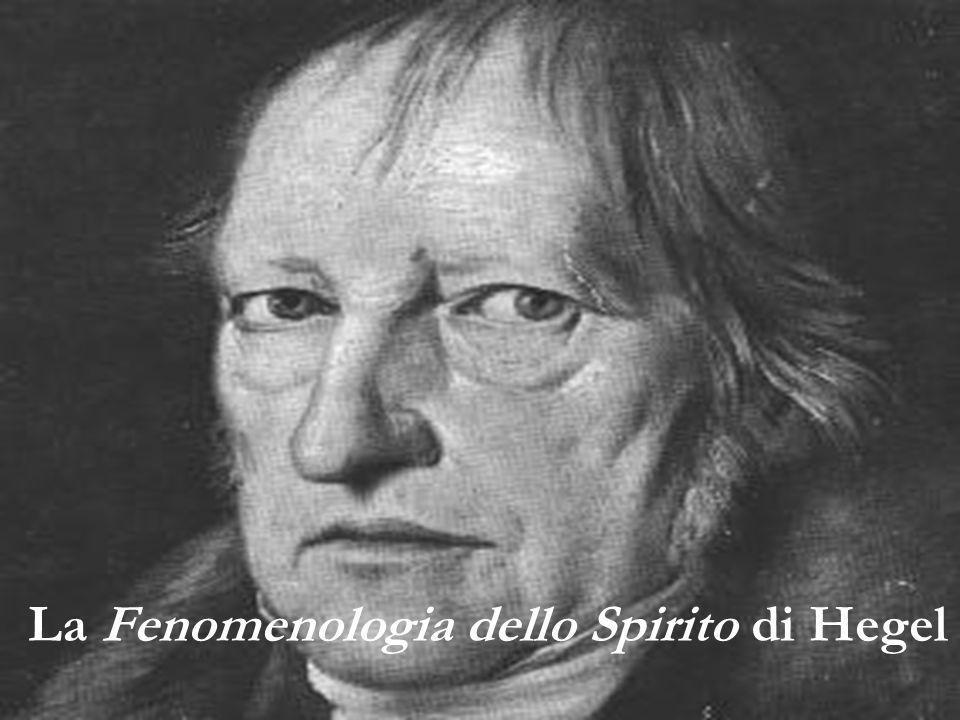 La Fenomenologia dello Spirito di Hegel
