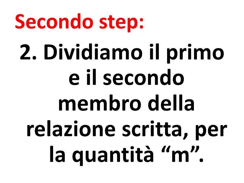 Secondo step: 2.