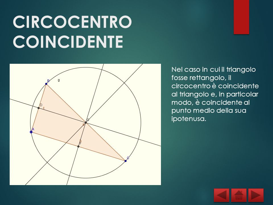 CIRCOCENTRO COINCIDENTE