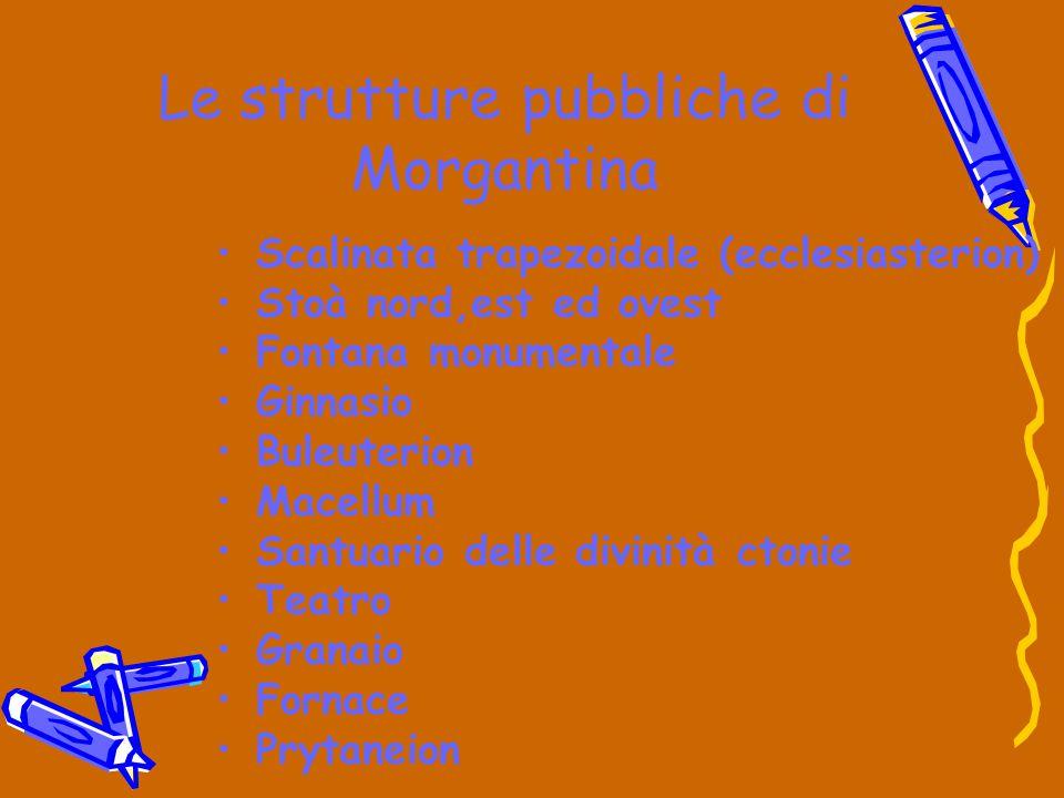 Le strutture pubbliche di Morgantina