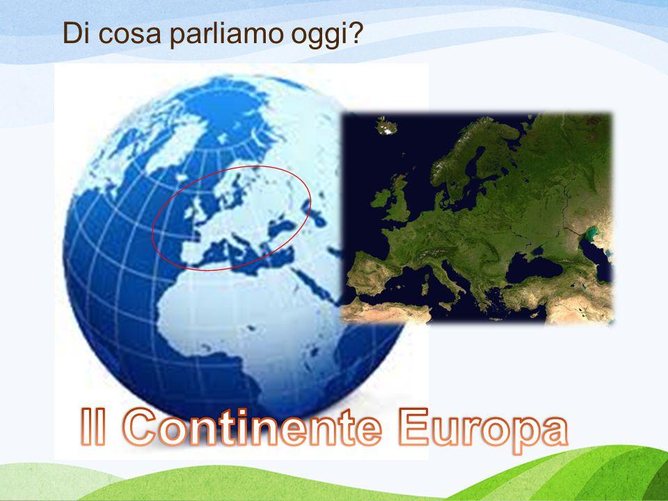 Di cosa parliamo oggi Tricarico Domanda Europa Il Continente Europa