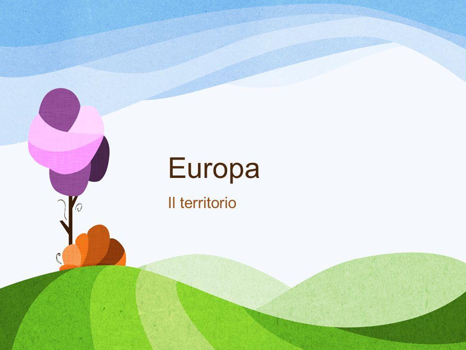 Europa Il territorio