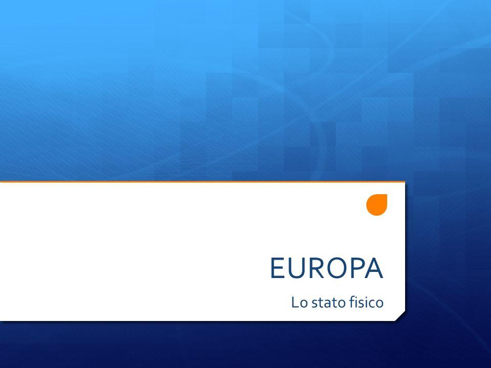 EUROPA Lo stato fisico