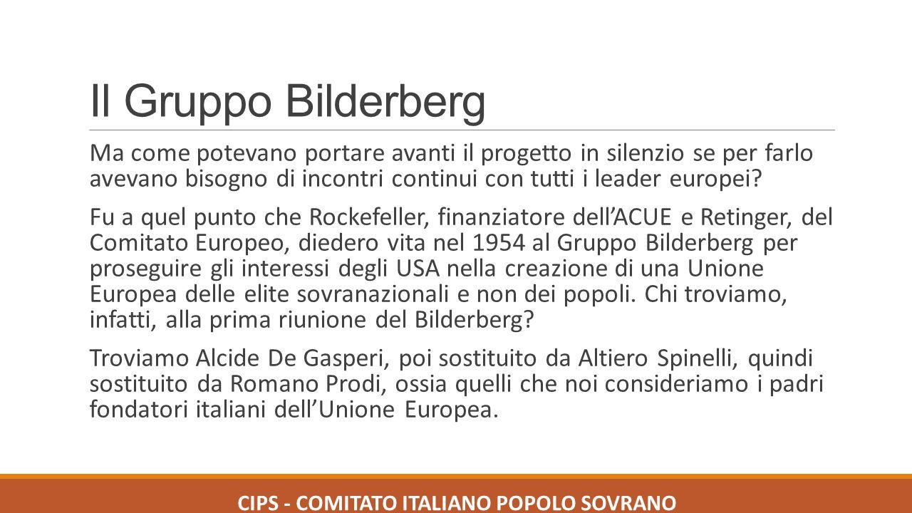 CIPS - COMITATO ITALIANO POPOLO SOVRANO