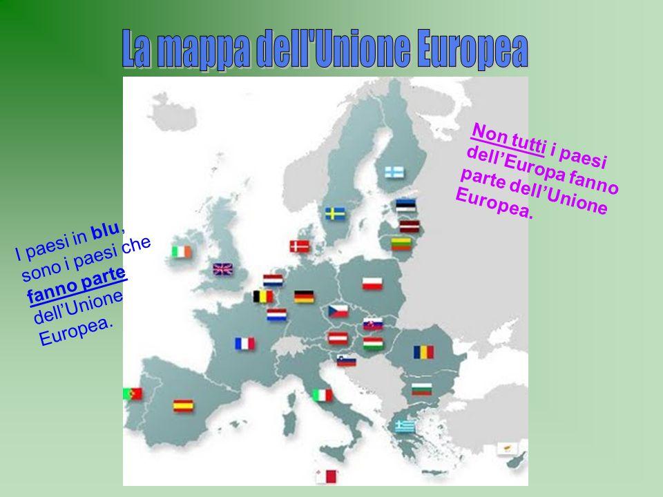 La mappa dell Unione Europea