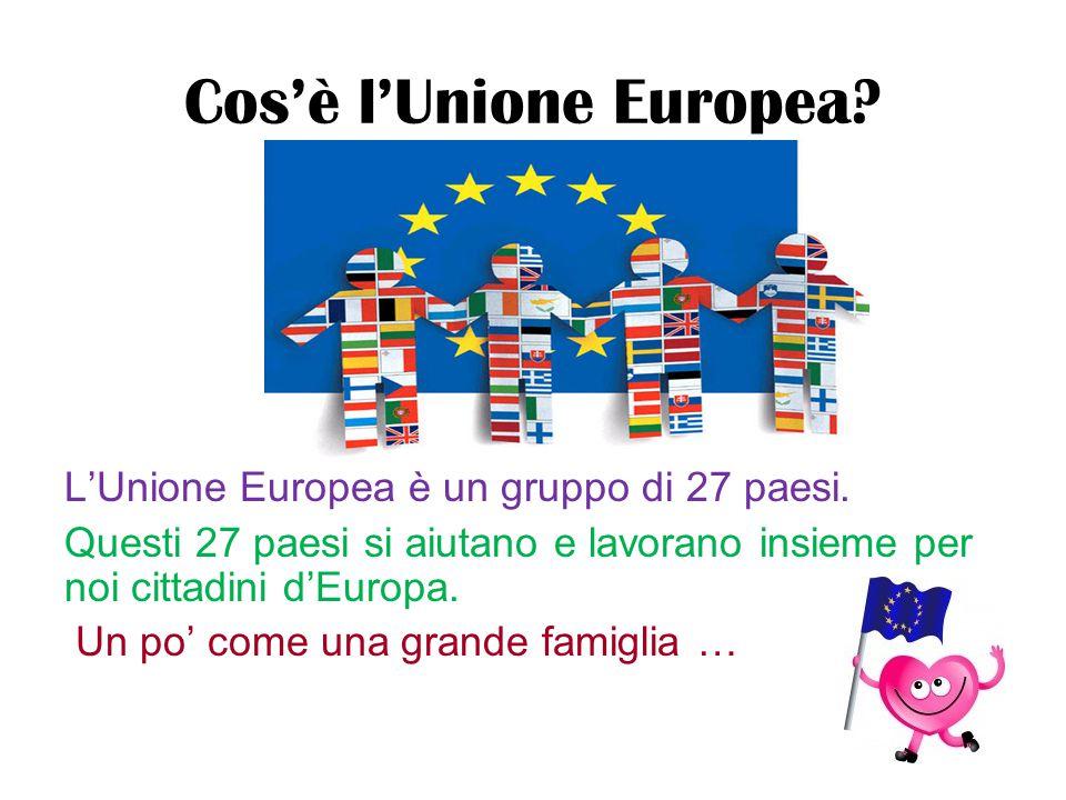 Cos'è l'Unione Europea