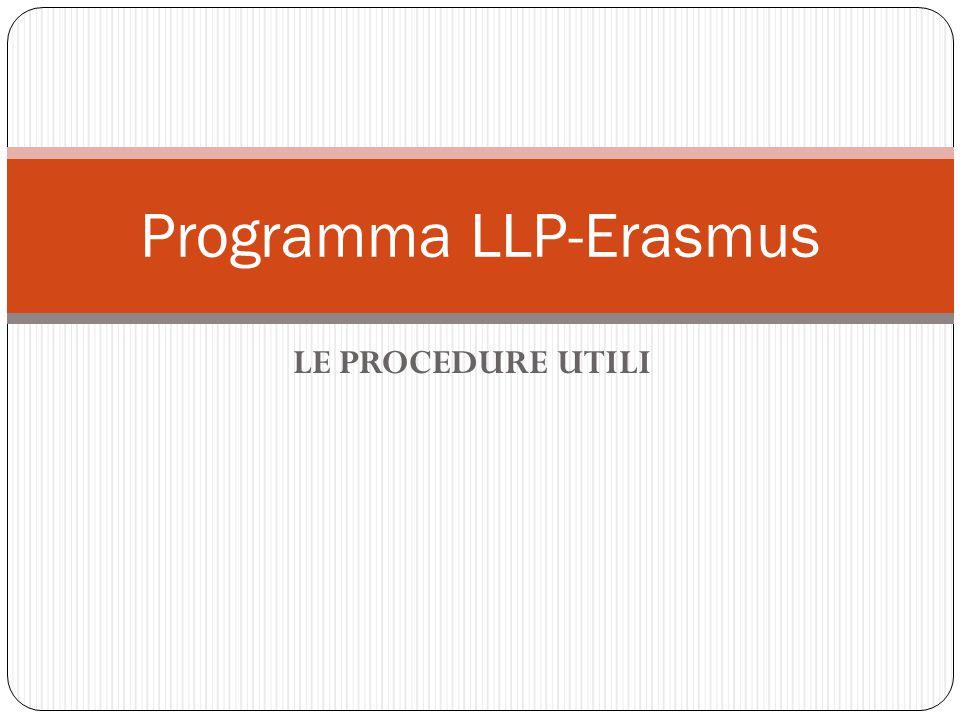 Programma LLP-Erasmus