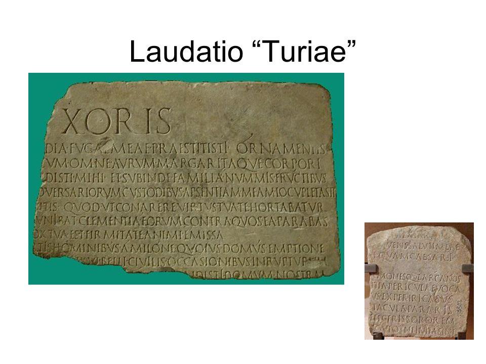 Laudatio Turiae
