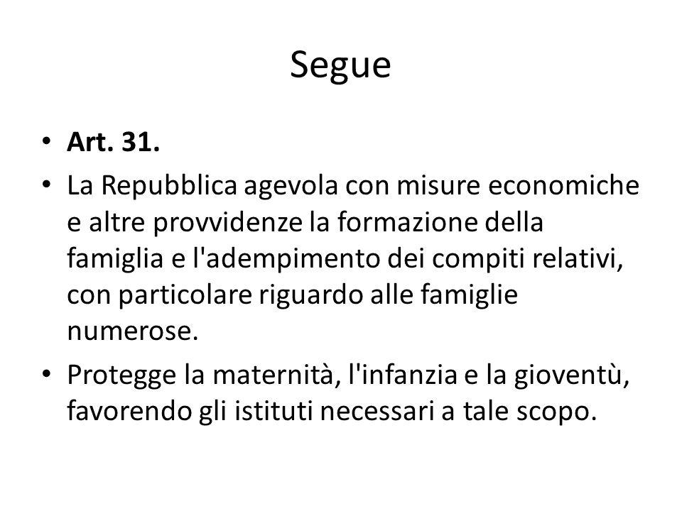 Segue Art. 31.