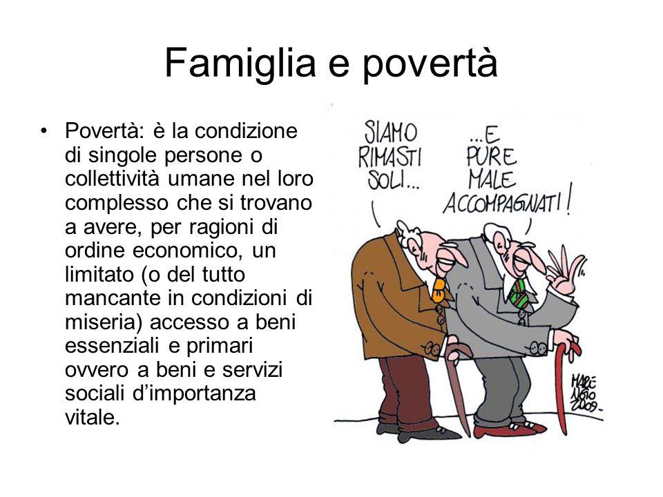 Famiglia e povertà
