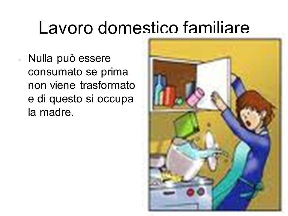 Lavoro domestico familiare