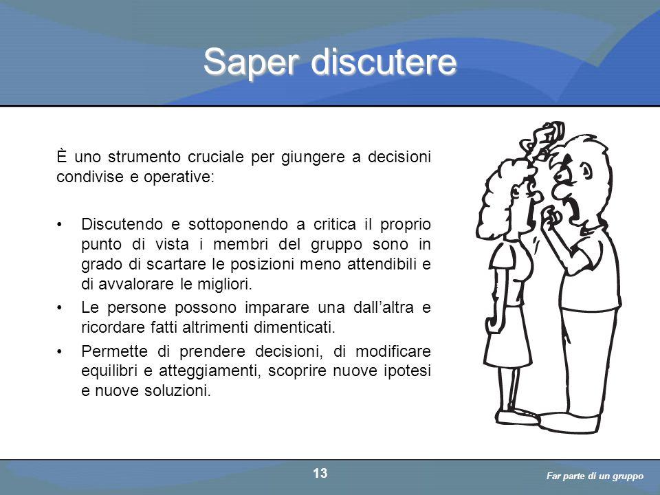 Saper discutere È uno strumento cruciale per giungere a decisioni condivise e operative: